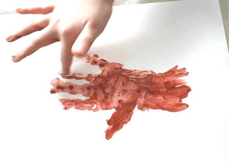 рисуем дерево рукой