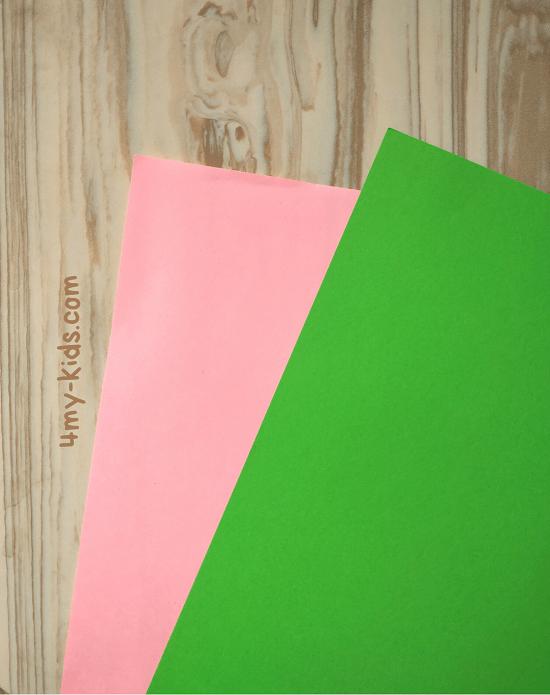 Как сделать прыгающую лягушку из бумаги подготовка